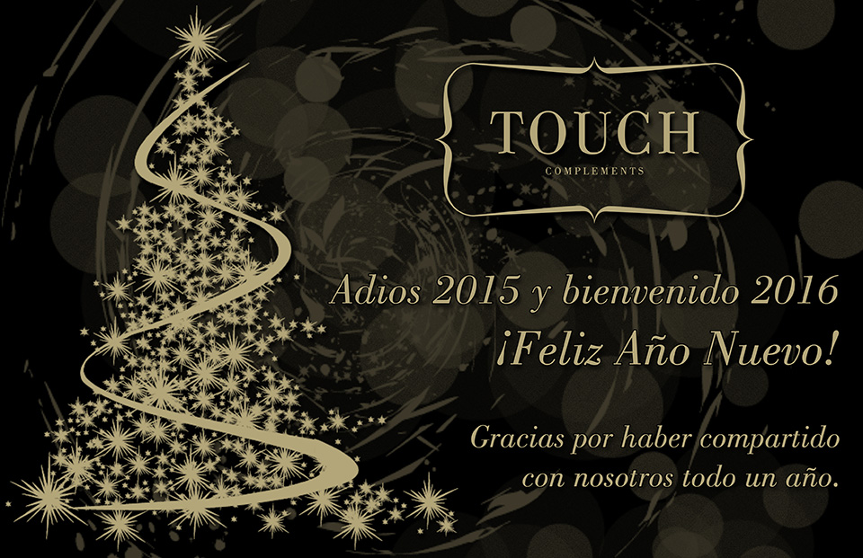 Touch Complements - Feliz Año Nuevo 2016